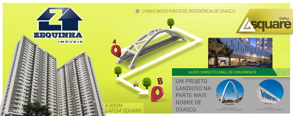 SQUARE OSASCO - Lazer completo e Mall