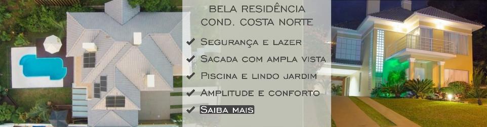 CONFORTAVEL RESIDENCIA COSTA NORTE