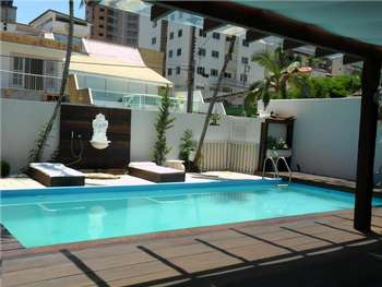 Casa com piscina  Aluguel Temporada B. Cambori�
