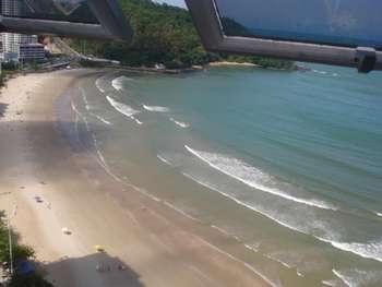 Cobertura Duplex frente mar com linda vista BC
