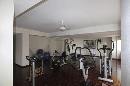 Espaço fitness do condomínio