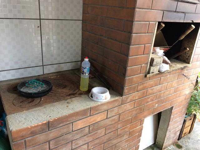 Churrasqueira e fogão