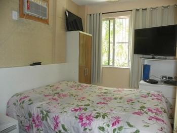 Apto mobiliado com 2 Dormitórios - Região Central