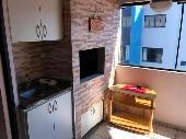 1 suíte + 2 dormitórios , sacada c/ churrasqueira