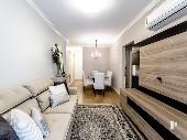 1 Suíte + 2 dormitórios Mobiliado e equipado!