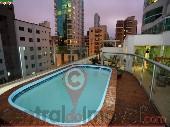 TEMPORADA 2 suítes + 1 quarto, com piscina BC
