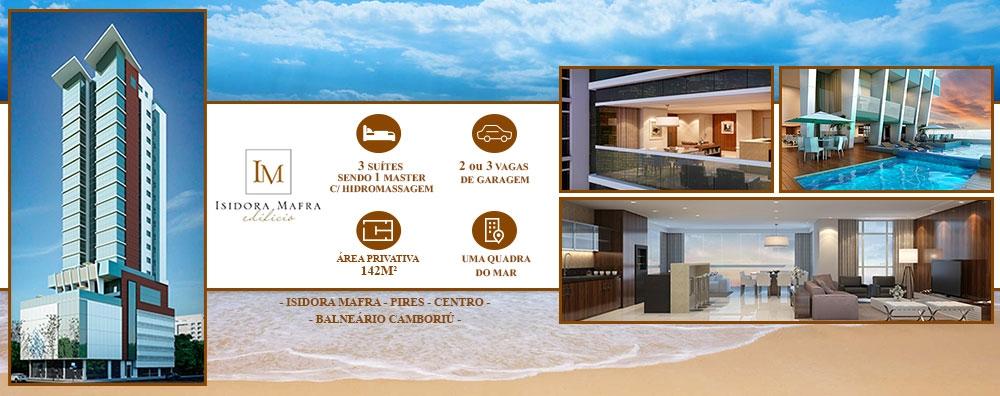 Apartamento na Av. Brasil 3 suítes em Balneário Camboriú.